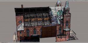 geoXD 3D model Damage from Tornado
